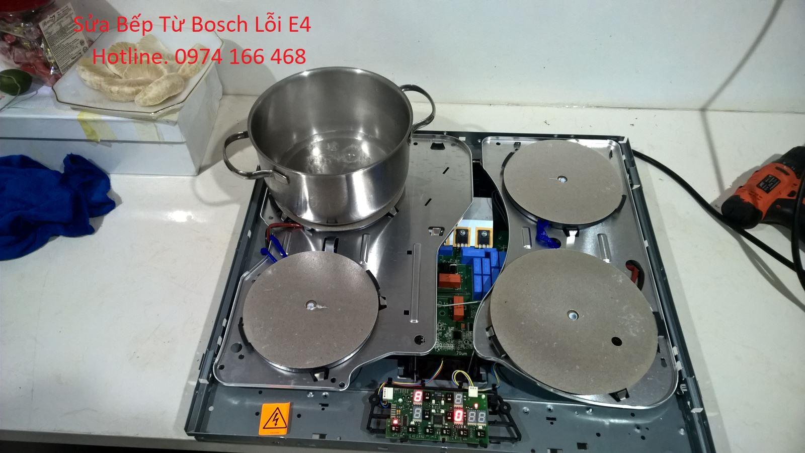 Bếp Từ Bosch Báo Lỗi E4 Tìm Hiểu Nguyên Nhân Khắc Phục.