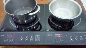hình ảnh khắc phục bếp từ thành công